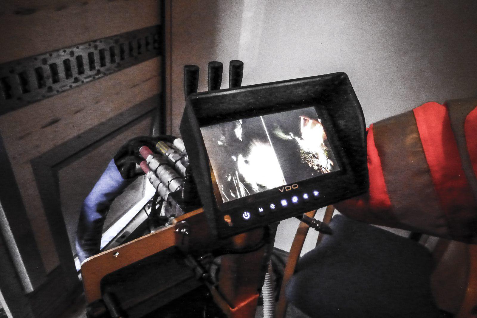 Filming av rør